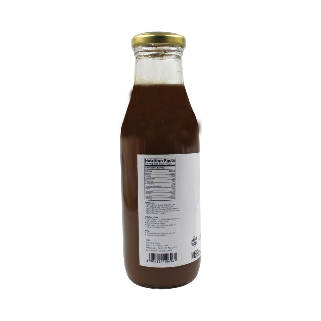 SO GOOD Amla Pulpy Syrup 500ml
