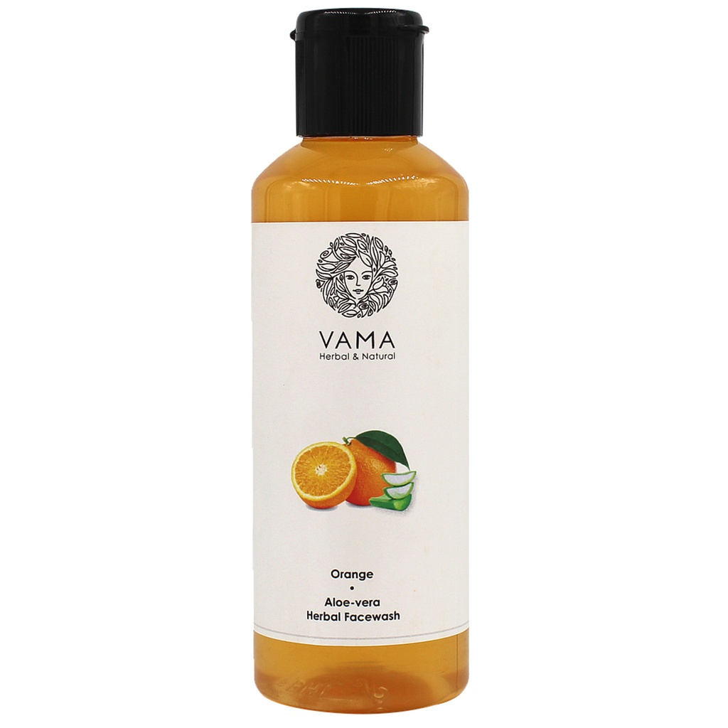 VAMA Herbal Orange Aloevera Facewash 210ml