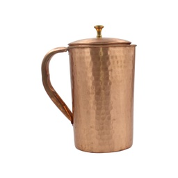 [hummjug12] Kapita Copper Hammered Lacquer Coated Jug 1ltr