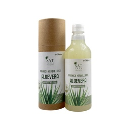 [aloe132 ] SAT VEDA Natural Aloe Vera Juice 500ml