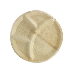 "Pureco Disposable 4 C.P. 12"" Round Plate"