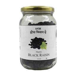 [raisinblack1 ] Sidha Kisan Se Raisin Black 250gm