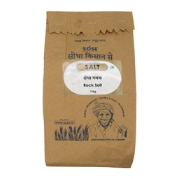 [rocksalt12] Sidha Kisan Se Natural Rock Salt 1kg